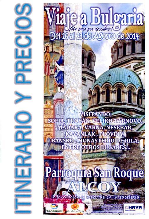 Viaje Parroquia a Bulgaria