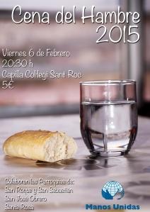 cena del hambre 2015