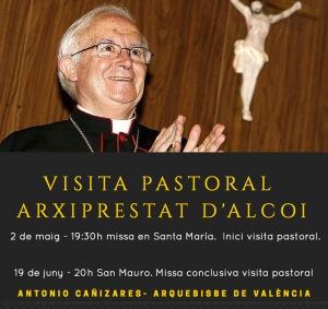 Visita pastoral arquebisbe
