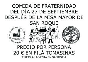 COMIDA DE FRATERNIDAD