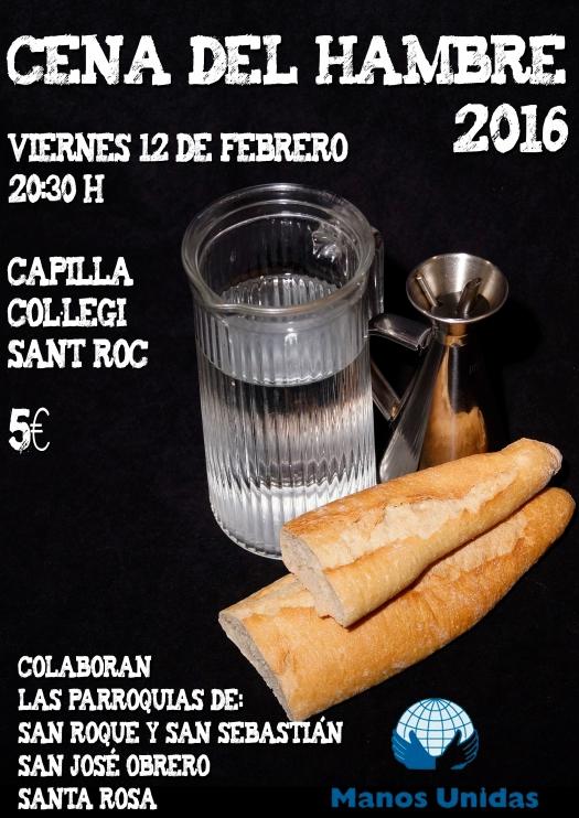 prueba cena del hambre 2016