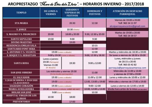 2017-10-13 Horario misas invierno 2017-2018 (1) copia