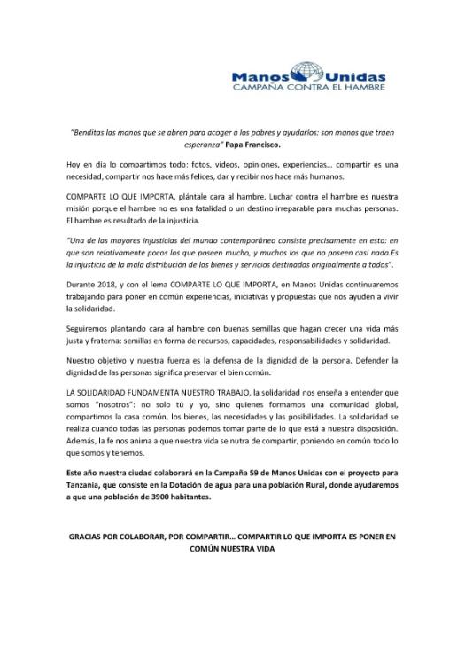 Manifiesto Manos Unidas copia