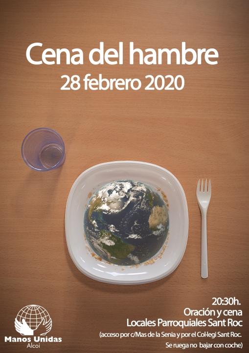 cartel cena del hambre 2020
